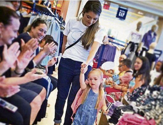 De padres quiteños, Valentina Guerrero es modelo infantil en Miami (EE.UU.).