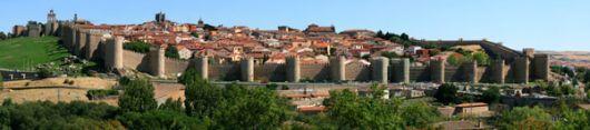 Los muros de Ávila cuentan con 87 torreones, antes usados para vigilancia.