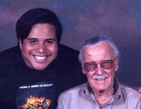 Junto a Stan Lee en Dallas, 2011.
