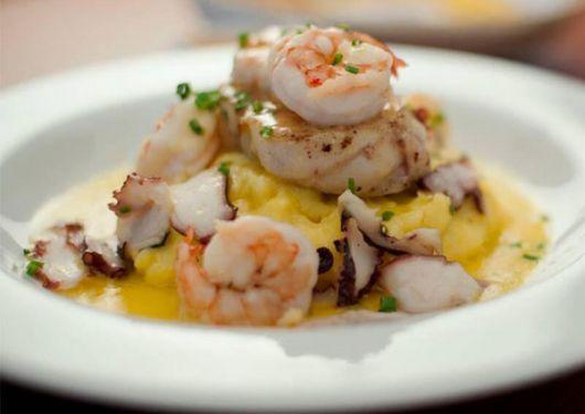 Rosa nautica, especialidad del restaurante A la Mar.