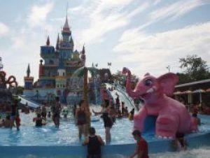 Este parque acuático atrae a viajeros de varias provincias.