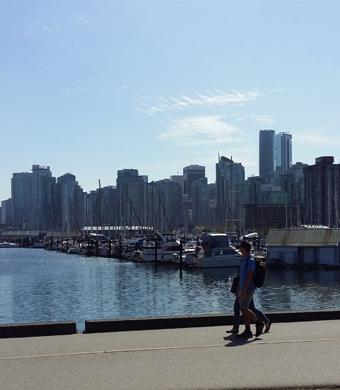 Vancouver, en el paralelo 50 norte