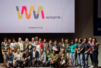 Ganadores cuyos proyectos fueron seleccionados en Wayra México.